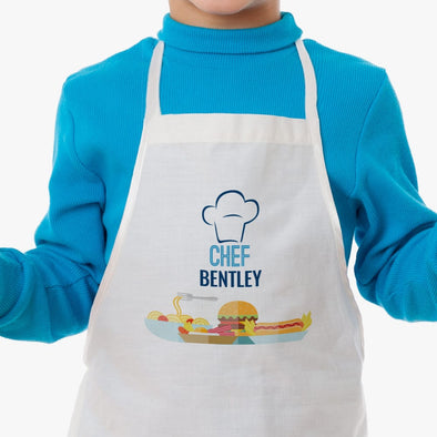 Exclusive Sale - Personalized Sous Chef Kids Apron.