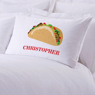 Personalized Taco Sleeping Pillowcase