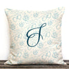 Pomegranate Personalized Christmas Decorative Canvas Throw Pillow.
