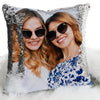Photo Personalized Flip Sequin Pillow | Personalized Reversible Mermaid Sequin Throw
