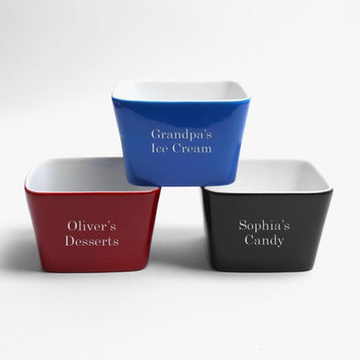 Customized Ceramic Snack/ Dipping Bowl