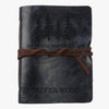 Not All Who Wander Are Lost Custom Leather Wrap Journal - Medium.