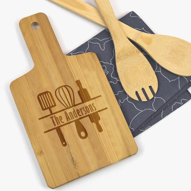 Family Custom Wooden Serving Board