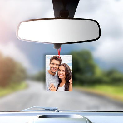 Photo Personalized Car Air Freshener.