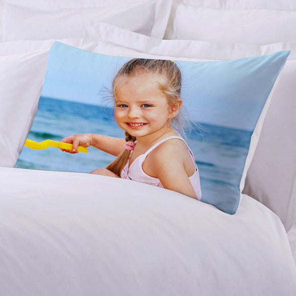 Photo Personalized Sleeping Pillow Case.