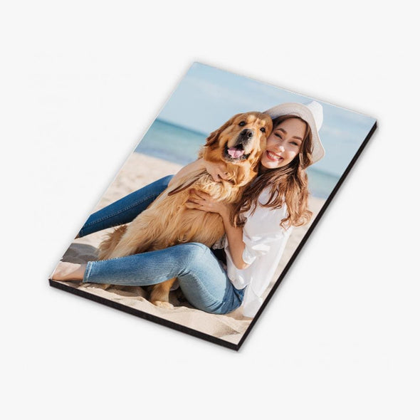 Personalized Rectangular Photo Refrigerator Magnet