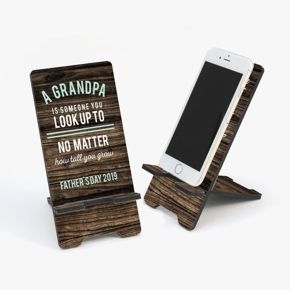 Special Dad Personalized Cell Phone Stand