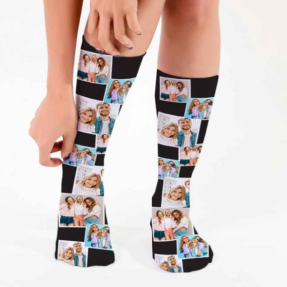 Photo Personalized Tube Socks.