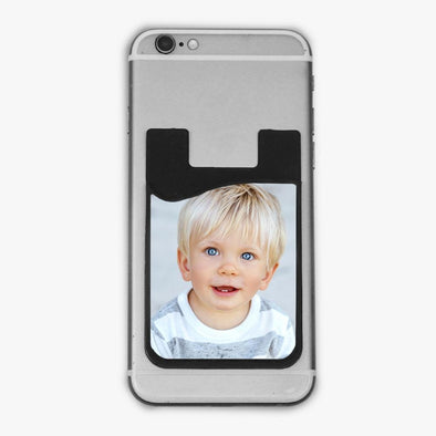 Photo Personalized Caddy Phone Wallet.