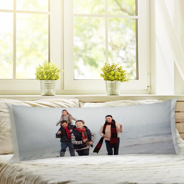 Custom Body Pillow Case of Your Photo | Create Your Own Personalized Photo Pillow.