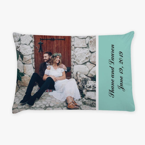 Couples Photo Personalized Sleeping Pillow Case