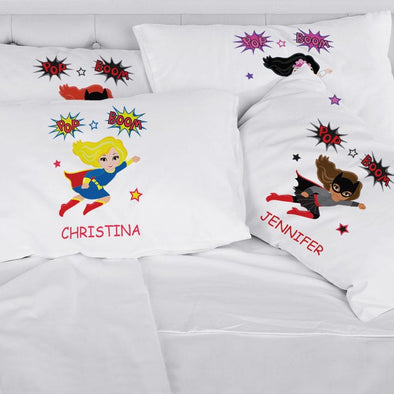Super Hero Custom Girls Character Sleeping Pillowcase