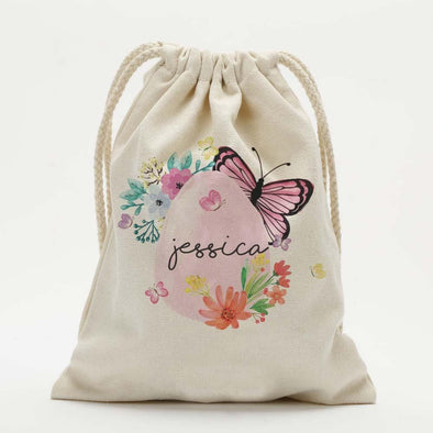 Custom Easter Egg Garden Kids Drawstring Sack.