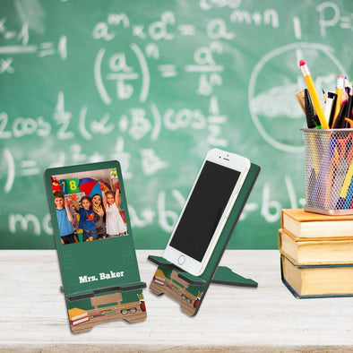 Custom Classroom Photo Cell Phone Stand.