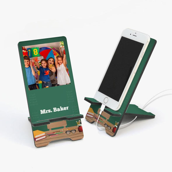 Custom Classroom Photo Cell Phone Stand
