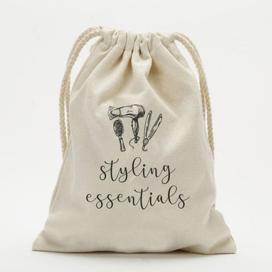 Personalized Styling Essentials Drawstring Sack.