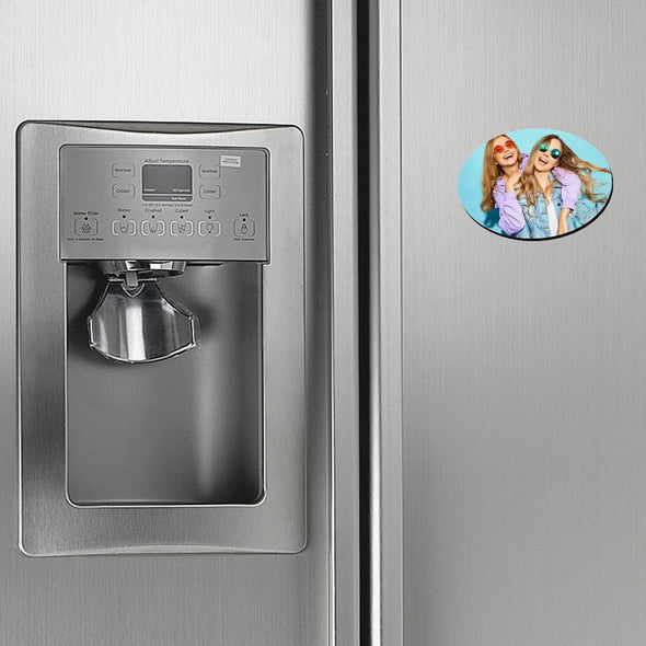 Personalized Photo Refrigerator Magnet