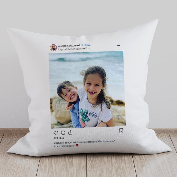 Exclusive Sale | Personalized Full Photo Decorative Pillowcase.