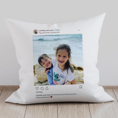 Personalized Full Photo Decorative Pillowcase.