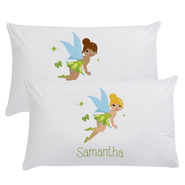 Customized Fairy Sleeping Pillowcase | Custom Pillow for Kids
