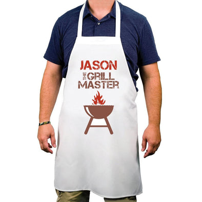 Personalized Grill Master Adult Apron.