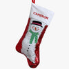 Christmas Characters Personalized Sequin Stocking.