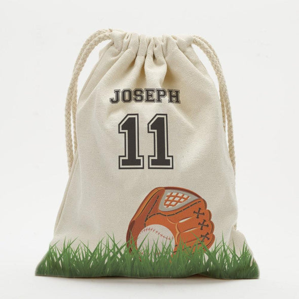 Sports Personalized Drawstring Sack