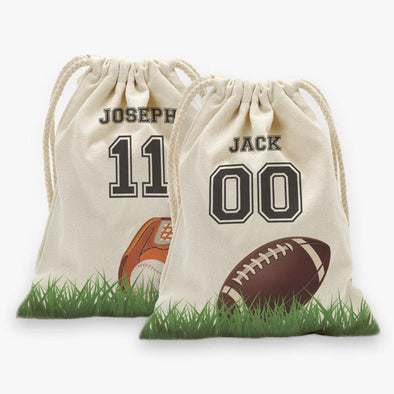 Sports Personalized Drawstring Sack.