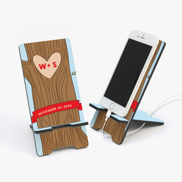 Tree Of Love Custom Cell Phone Stand.