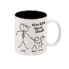 Personalized 11 oz Worlds Best Dad Mug