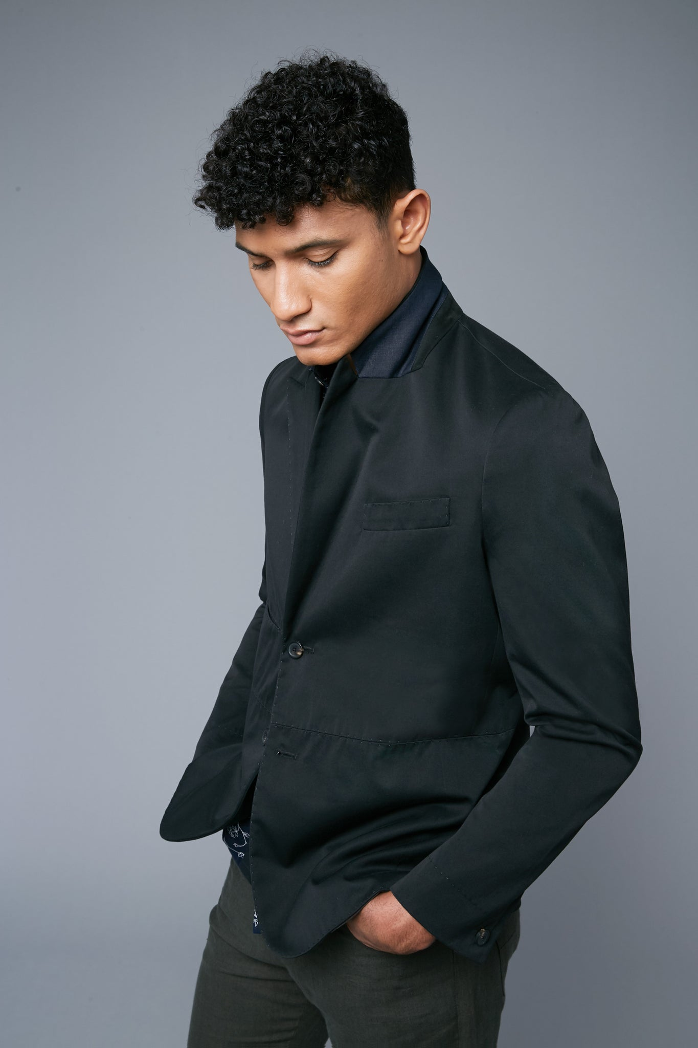 Peak Summer Jacket | Black
