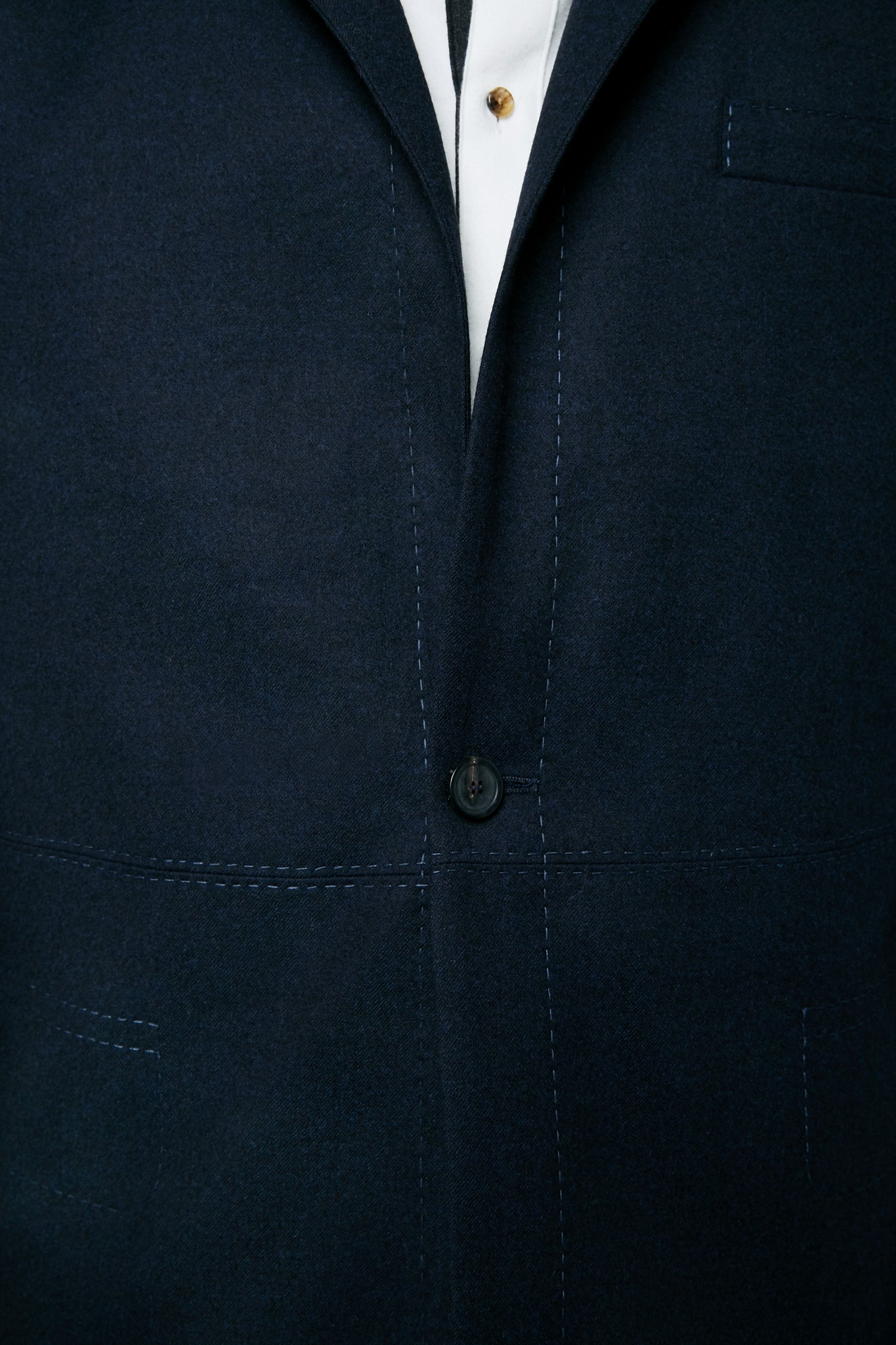 Architect's Jacket | Navy Mélange