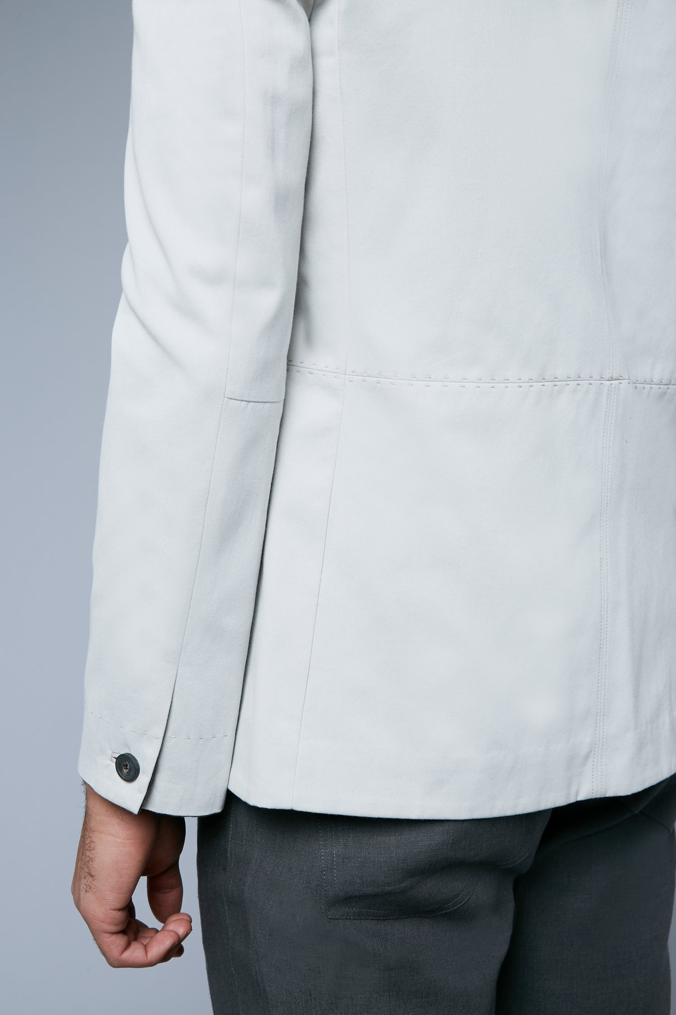 Peak Summer Jacket | Ivory