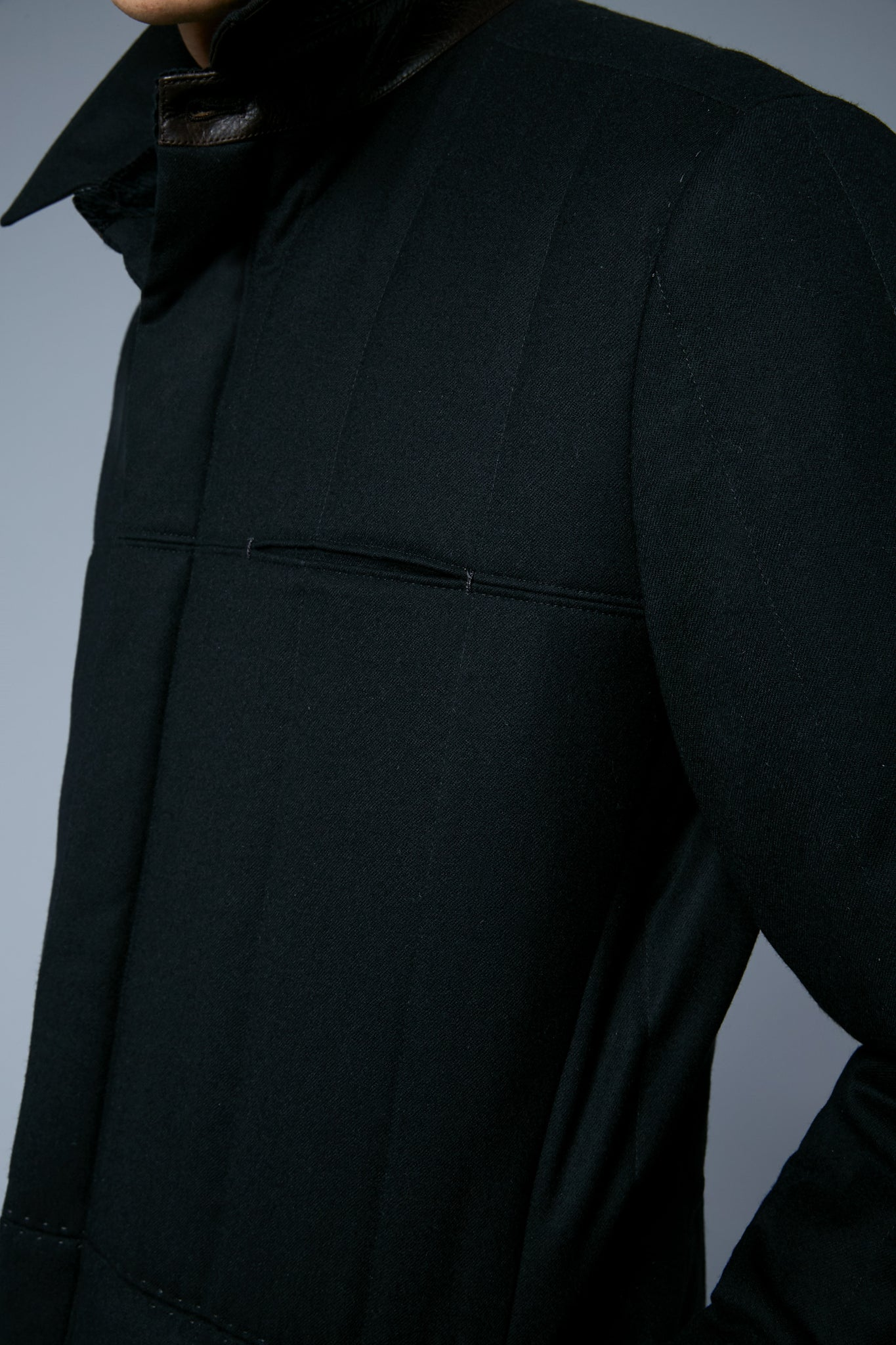 Down Téchin Jacket | Noir