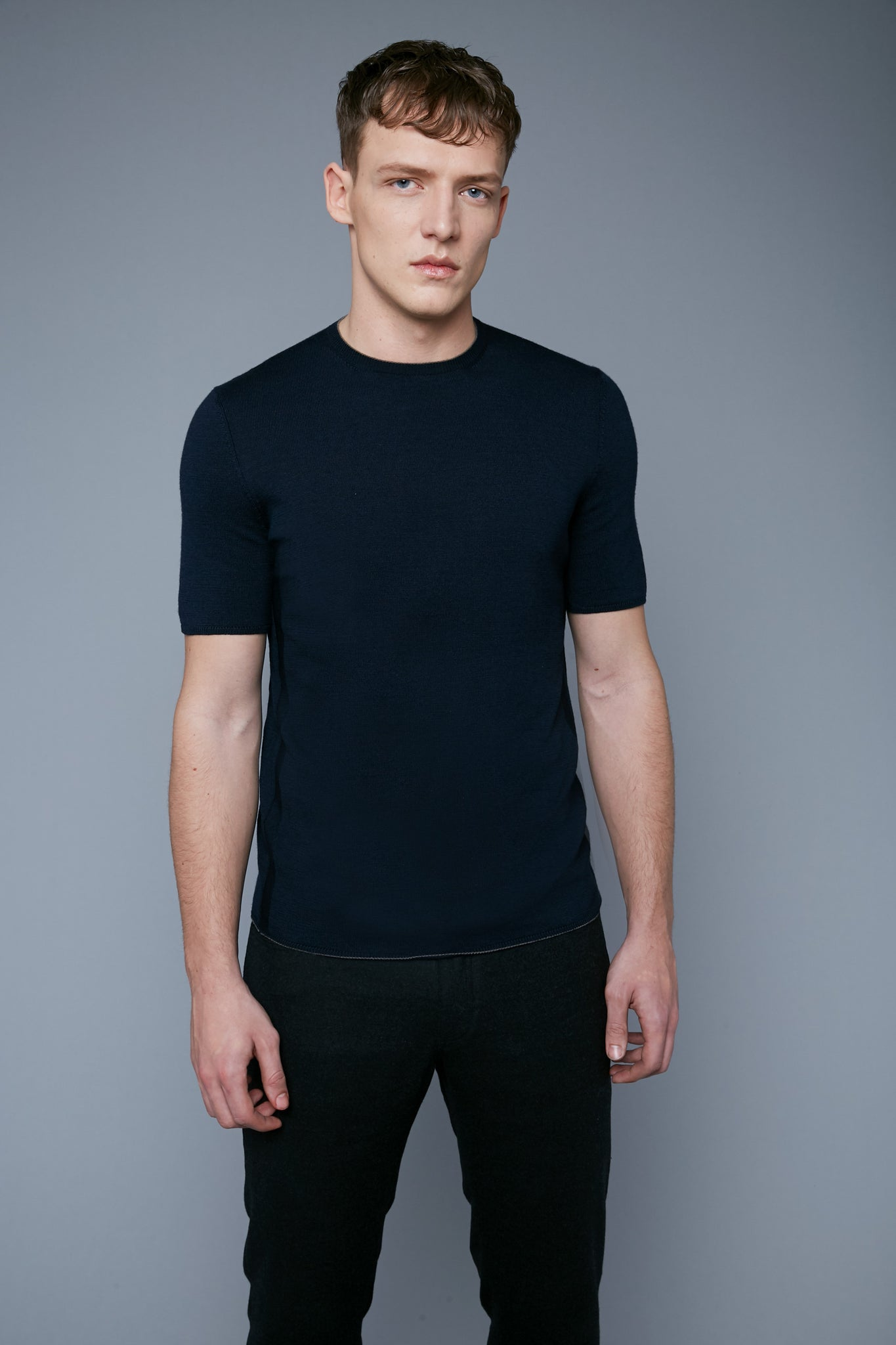 Sweater Tee | Navy