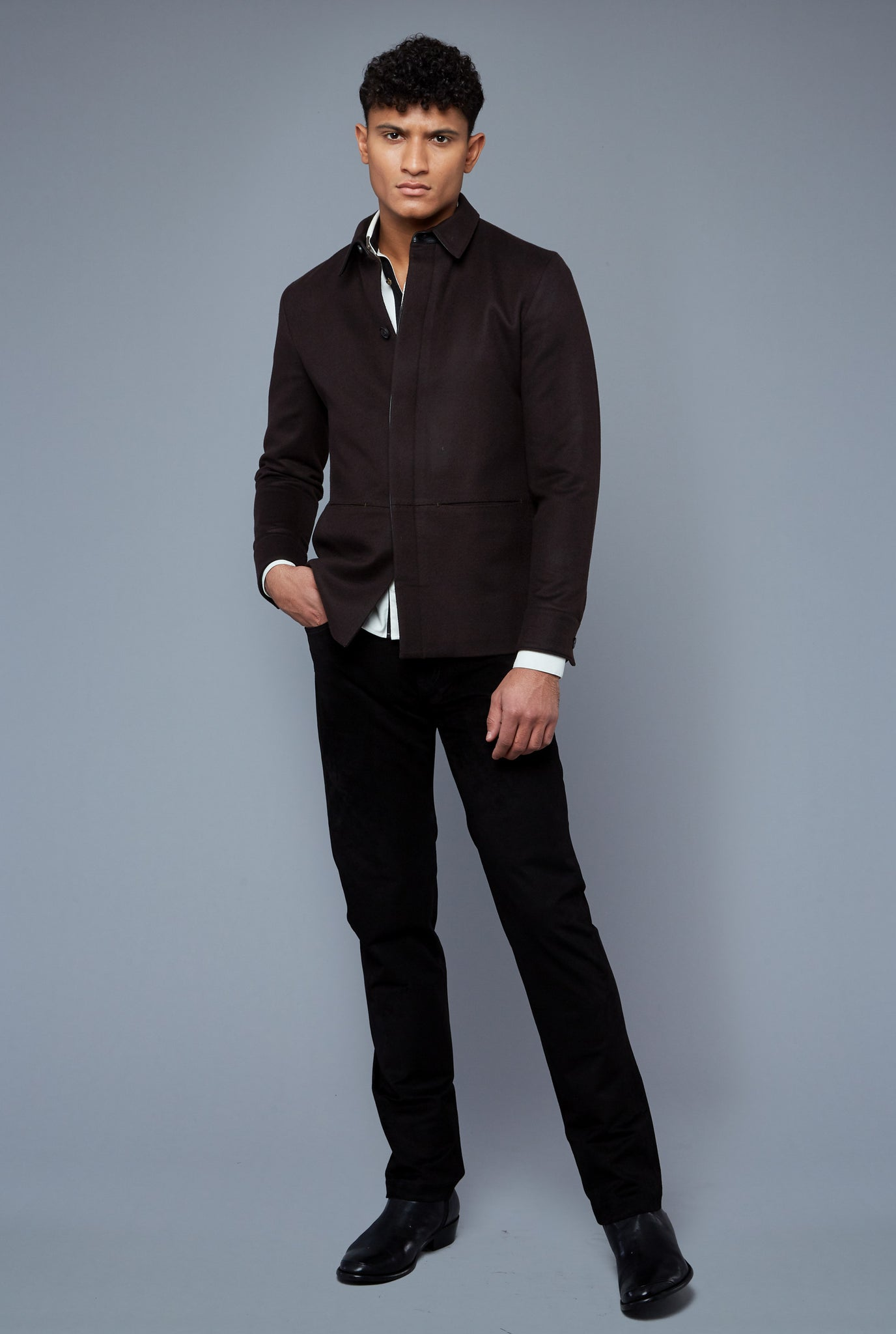 TÉCHIN Jacket | Brown