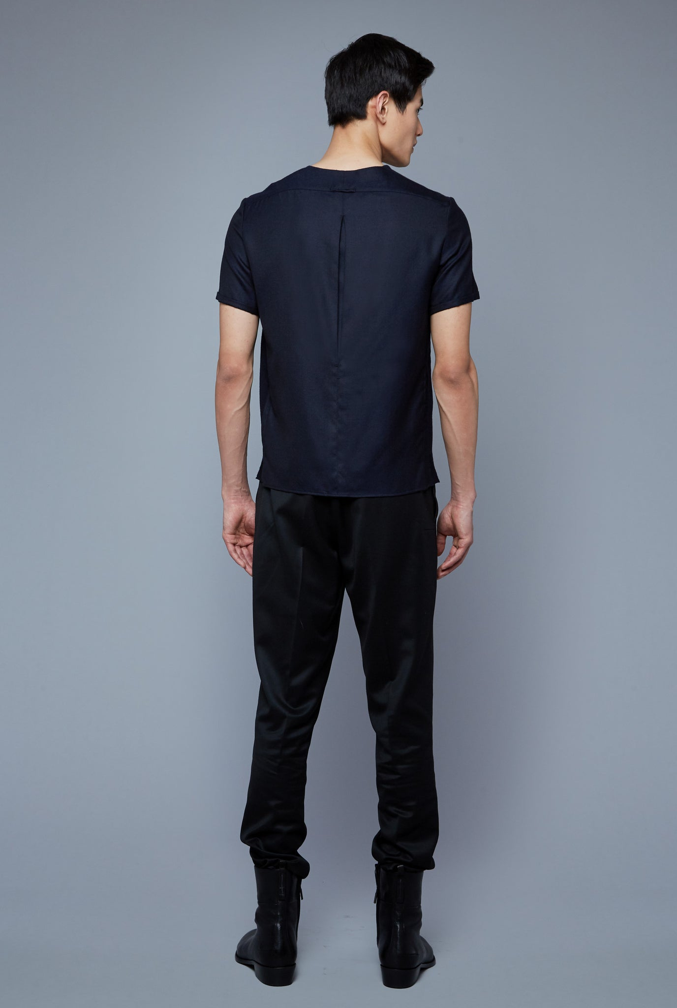 Cashmere Cloud Tee | Navy