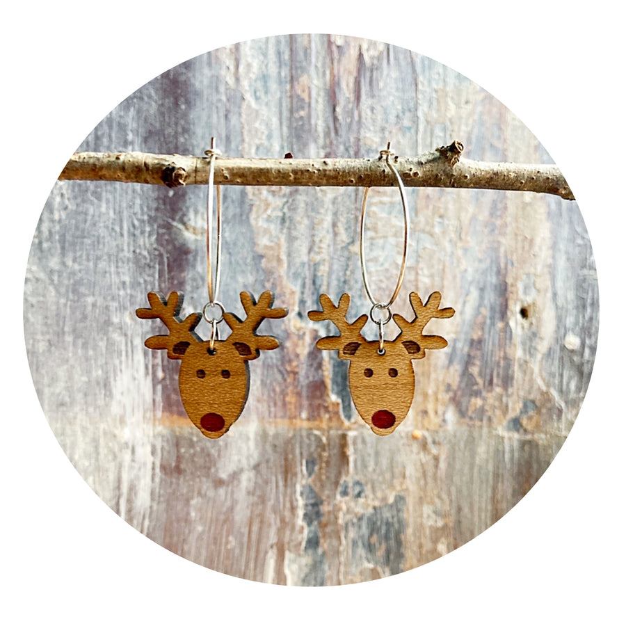 Rudolph Hoop Earrings