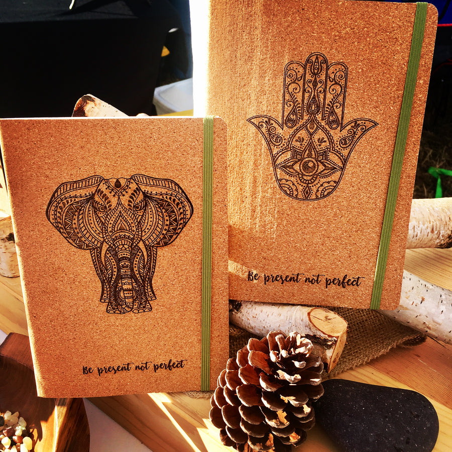 Cork Journal Blank Notebook