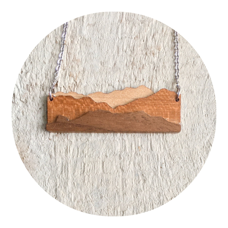 Cascade Mountain Necklace