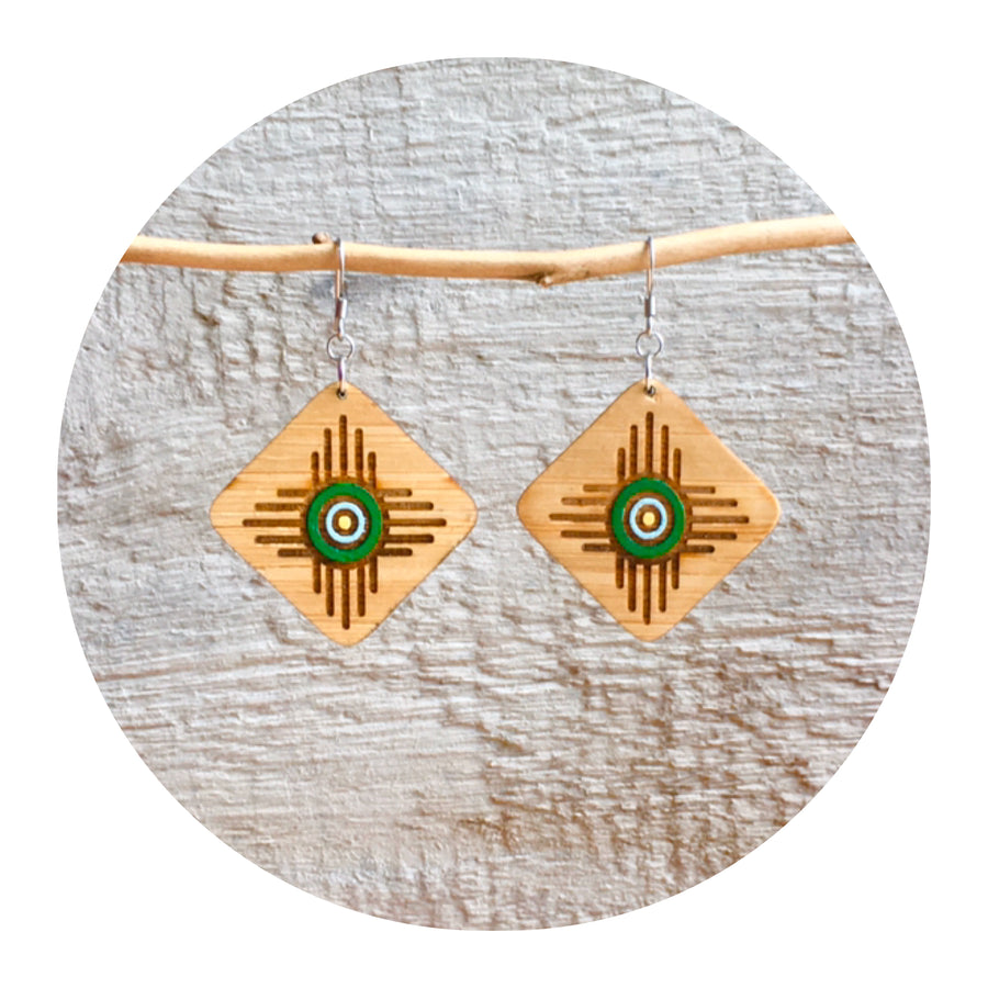 Zia Tribal Dangle Earrings