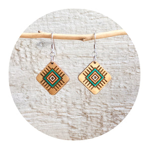 Tribal Dangle Earrings - Small