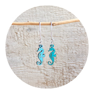 Sea Horse Dangle Earrings