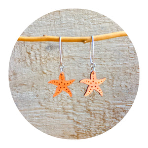 Starfish Dangle Earrings