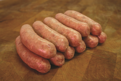 Thick Beef Sausages Gluten Free