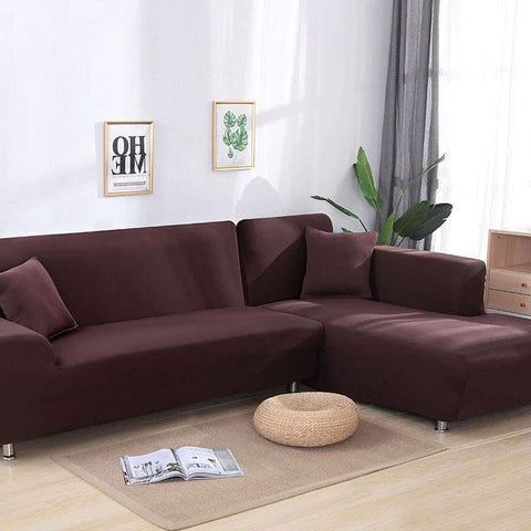 Corner Sofa - Brown