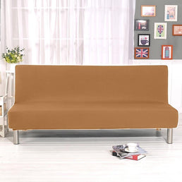 Sofa Bed Cover - Light Brown