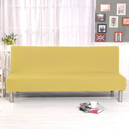 Sofa Bed Cover - Yellow