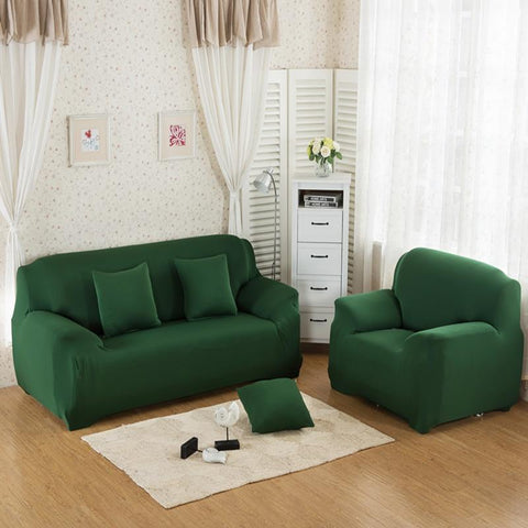 Sofa Cover -  Dark Green