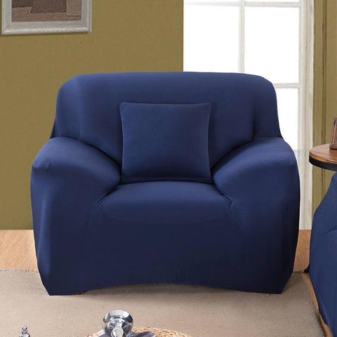 Sofa Cover -  Navy Blue